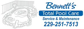 Bennetts Total Pool Care Logo
