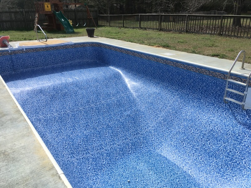 Bennett's Pool Care Liner Replacement and Repair